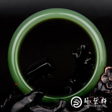 【琢艺轩】碧玉手镯 68克