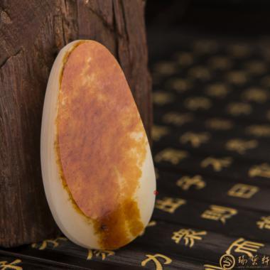 新疆和田红皮一级白玉籽玉 原料 40.7克