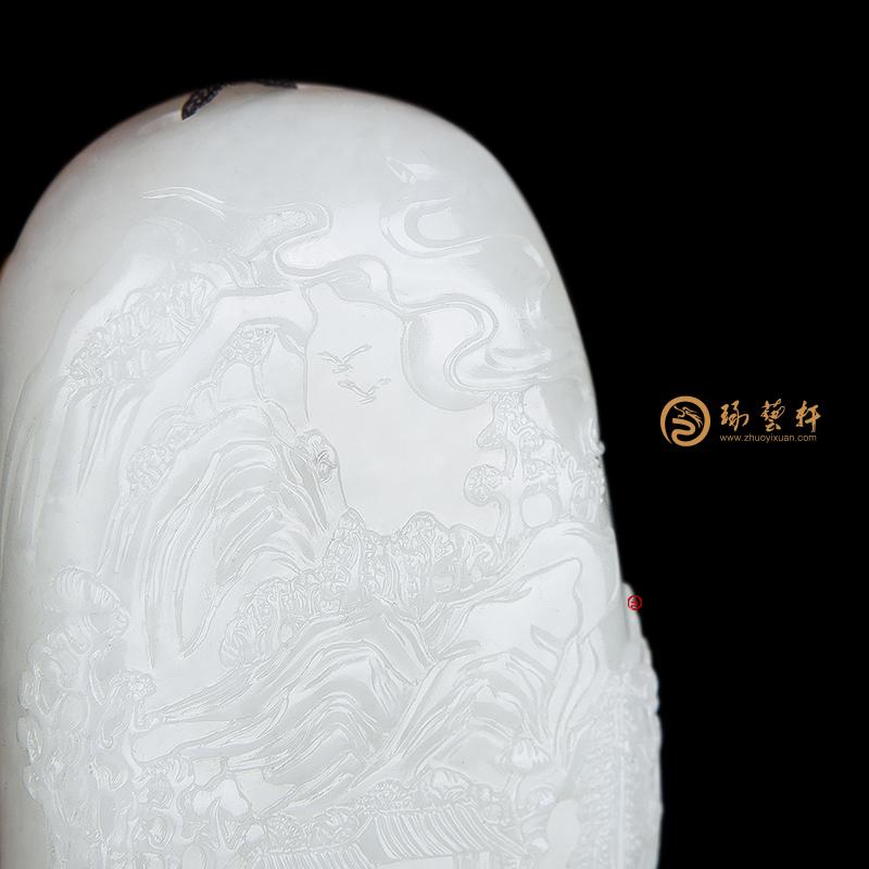 伏虎罗汉_ 新疆和田红皮白玉籽玉把件  -穆宇静玉雕工作室