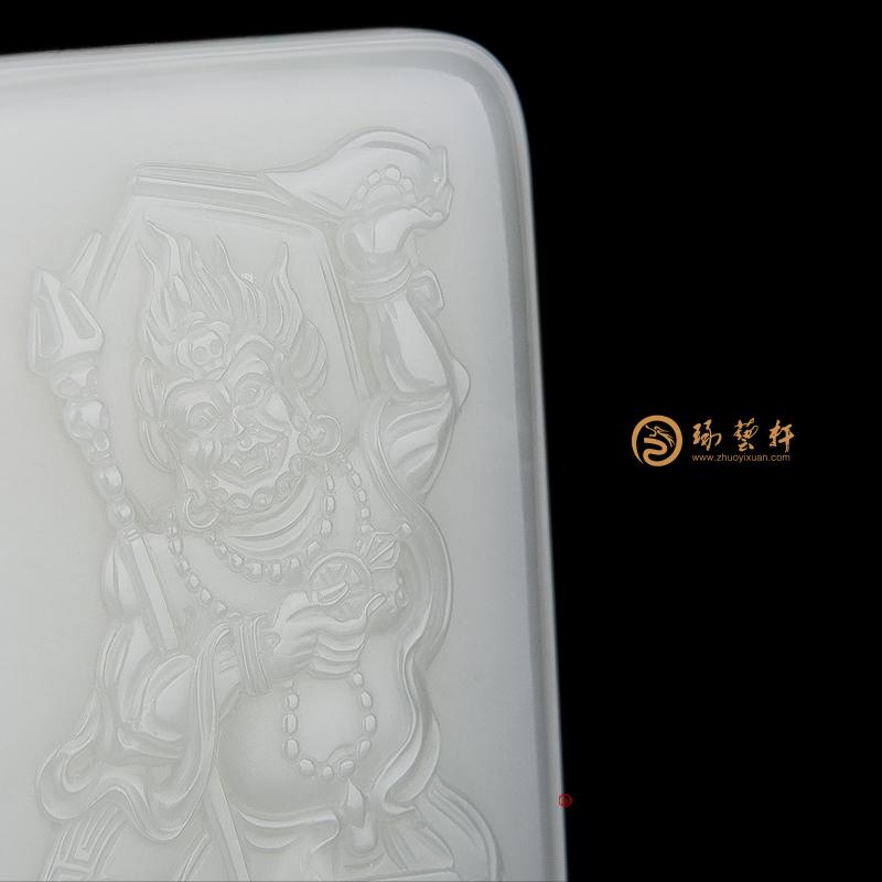 金刚亥母_ 新疆和田白玉籽玉牌子  -穆宇静玉雕工作室